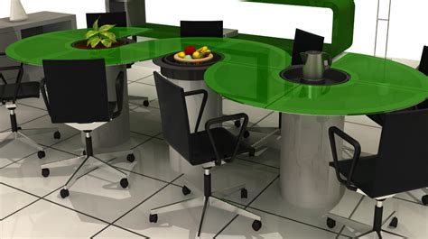 furniture design office table modular office furniture interior design design news and architecture trends