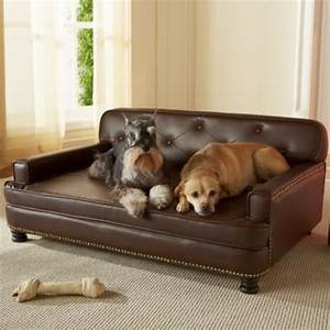 Extra large dog sofa bed dog sofa bed large faux leather for Xl dog sofa bed