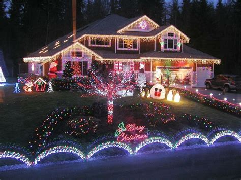 christmas light ideas for house outdoor decoration