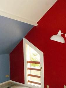 peindre un mur avec un pistolet a peinture courtagetravaux With comment peindre un mur en rouge