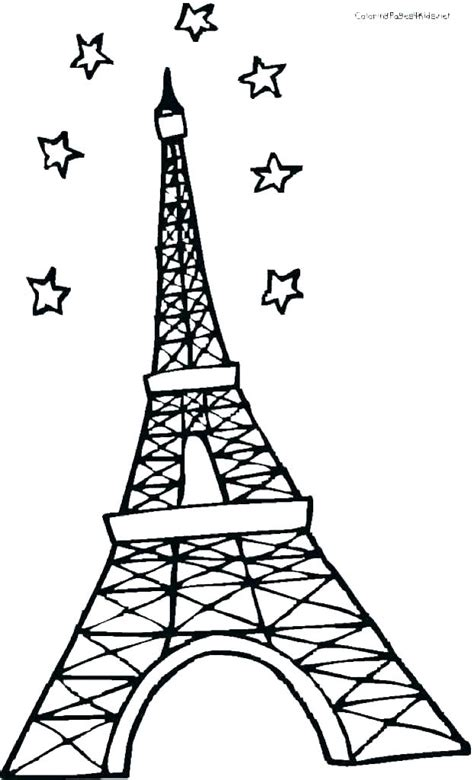 eiffel tower  drawing    clipartmag