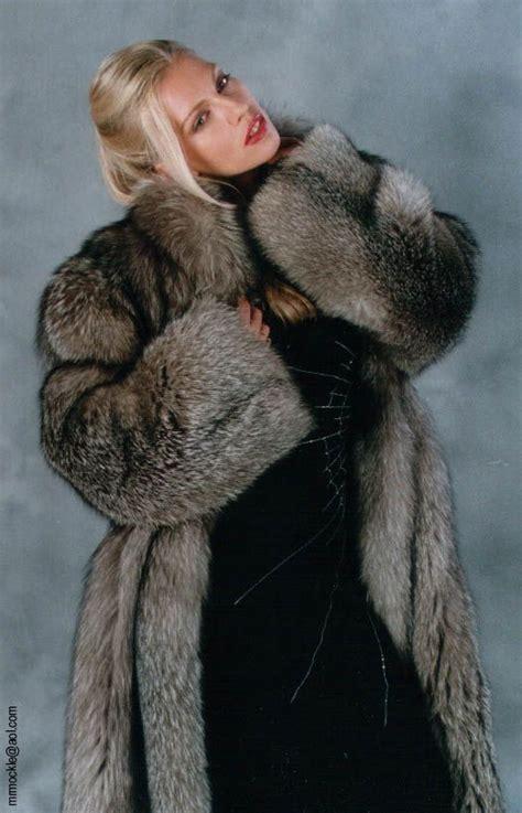 Fox Fur Coat & Awesome Spider Web Dress  Fur Pinterest