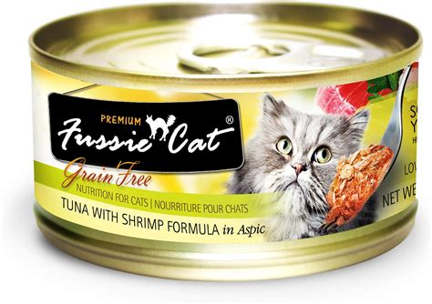 Fussie Cat Premium Tuna With Shrimp Formula In Aspic Grain