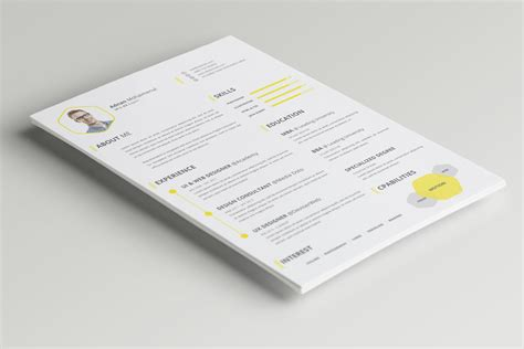 cv resume templates psd free 10 new fashion resume cv templates for free 365 web resources
