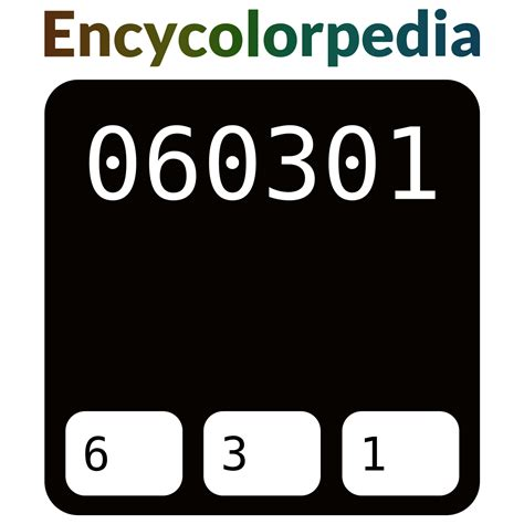 Whereas in a cmyk color space, it is composed of 0% cyan, 84.3% magenta, 100% yellow and 0% black. #060301 Hex Color Code, RGB and Paints