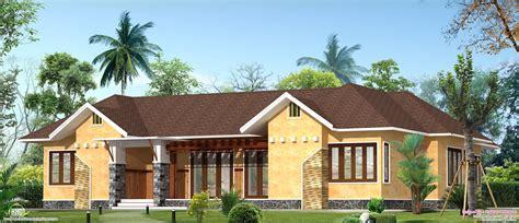 Eco Friendly Single Floor Kerala Villa