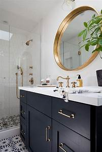 best 25 navy bathroom ideas on pinterest navy paint With best brand of paint for kitchen cabinets with mirrors wall art