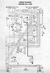 Austin Mini 1000 Wiring Diagram