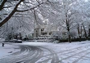 Seattle Washington Snow
