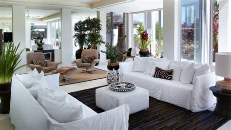 Living Room Furniture Placement Ideas  Two Sofas Facing