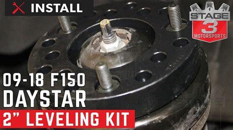 ford   daystar  leveling kit installation