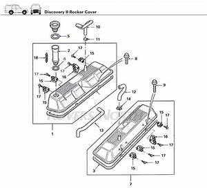 Land Rover Discovery Ii Rocker Cover
