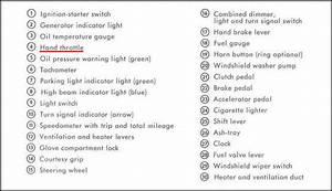 356b Dash Warning Lights