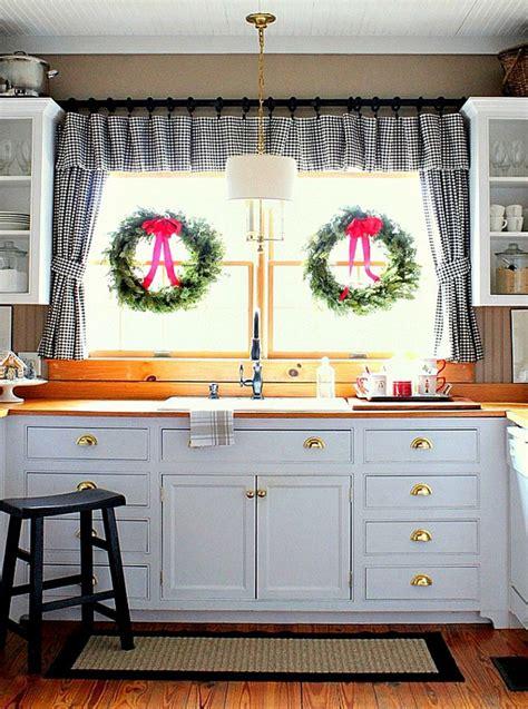 Küchegestaltenideenküchenvorhänge Aequivalere
