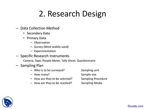 exle of research design principles of experimental design research methodology
