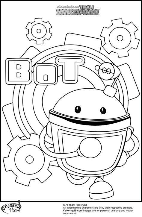 Coloring Umizoomi by Team Umizoomi Coloring Pages Team Colors