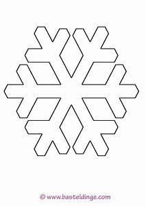 Schneeflocken Basteln Vorlagen : verschiedene schneeflocken vorlagen basteldinge ~ Frokenaadalensverden.com Haus und Dekorationen
