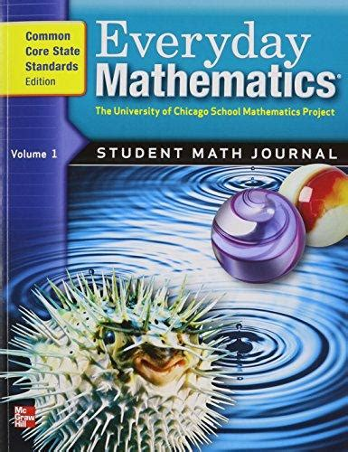 9780076576371 Everyday Mathematics, Grade 5 Student Math Journal, Common Core State Standards