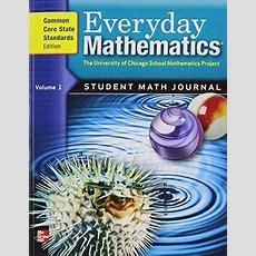 9780076576371 Everyday Mathematics, Grade 5 Student Math Journal, Common Core State Standards