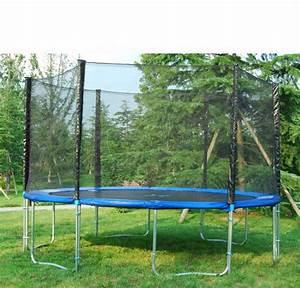 Filet De Sécurité : trampoline 400 cm avec filet de securite ~ Melissatoandfro.com Idées de Décoration