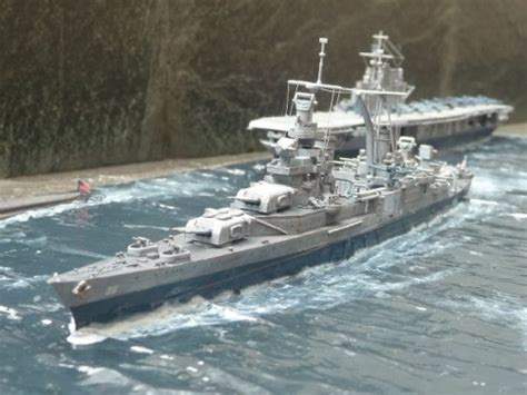 Uss Indianapolis Sinking Animation by Modeler S Miniatures Magic