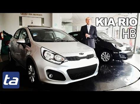 kia rio hatchback  en peru  video en full hd