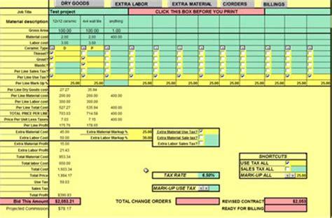 construction estimators   create  easy floor