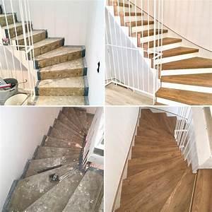 Treppen Renovieren Ideen : bildergalerie treppenrenovierung in 2019 treppenrenovierung treppe renovieren und ~ A.2002-acura-tl-radio.info Haus und Dekorationen