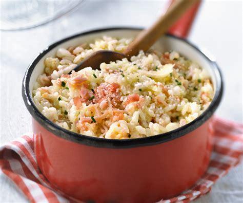 lait de coco cuisine risotto aux deux jambons et au pecorino recette gourmand
