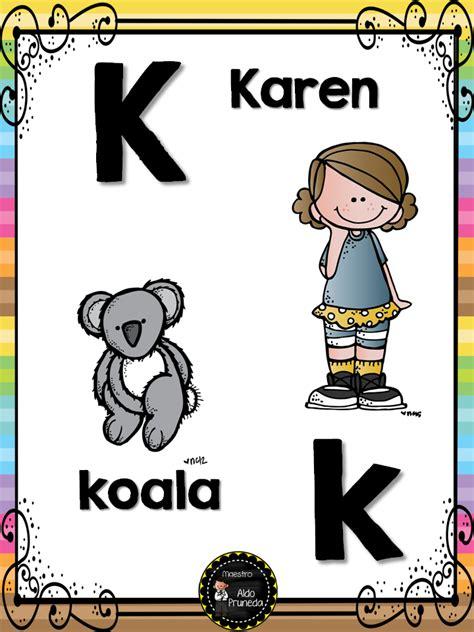 abecedario nombres propios 12 imagenes educativas