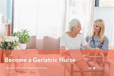 geriatric nurse salary certification