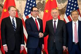 China and the U.S. held their first high-level meeting on trade since negotiations fell apart a month ago, with U.S. Treasury Secretary Steven Mnuchin saying he had a candid exchange with China's central bank governor…