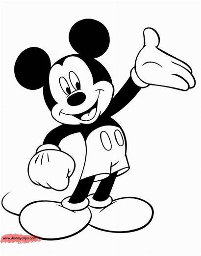 Mickey Mouse Coloring Printable Valentine Animal Sheets