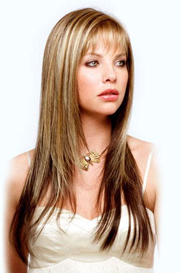 6 Different Long Layered Hairstyles with Bangs 2015