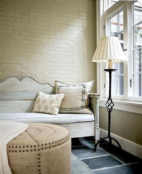 modern interior design ideas emphasizing white brick walls