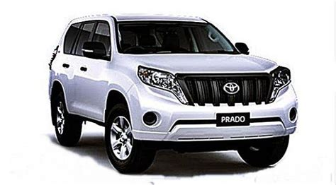 toyota prado  model redesign spy shots