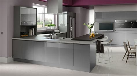 island cabinets for kitchen gloss grey kitchen modern high gloss kitchens