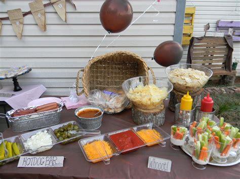 Hot Dog Bar Bradleys 2nd Birthday Pinterest