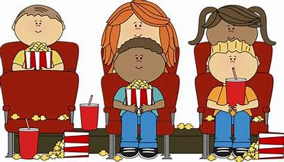 Clipart Clip Cliparts Theatre Library Watching