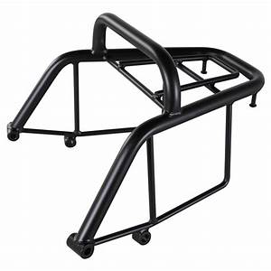 Rattler Rear Rack In Black Scooterworks Usa