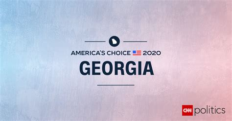 georgia election results  maps