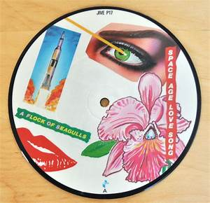 """A Flock Of Seagulls - Space Age Love Song 7"""" Picture Disc ..."""