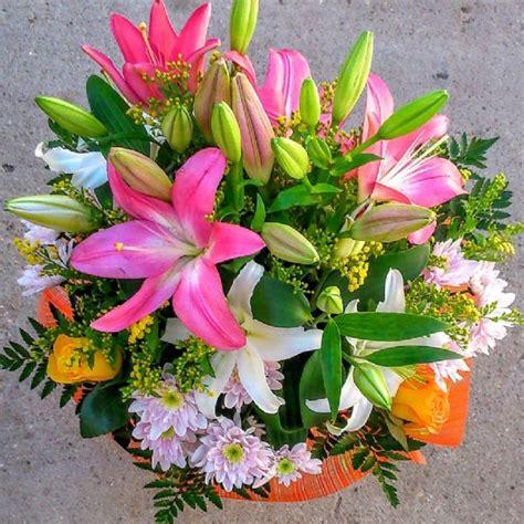 ramos de flores colores mixtos estrega hoy  domicilio