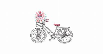 Bicycle Illustration Vector Watercolor Transparent Bike Drawing