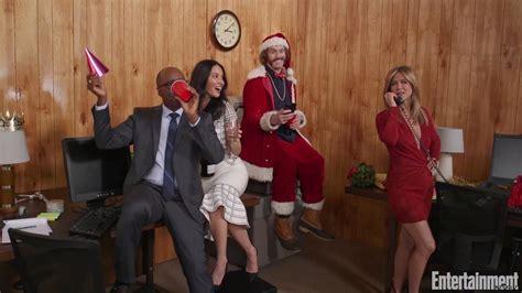 Office Christmas Party Cast On Film's Merry Mayhem Ewcom