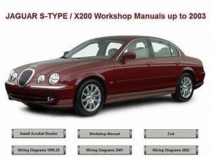 Jaguar S Type X200 Workshop Repair Manual Up To 2003