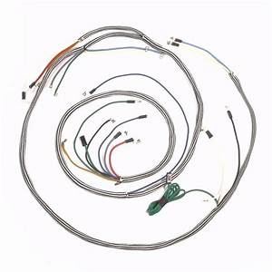 Ihc  Farmall 460  560 Gas Row Crop Complete Wire Harness