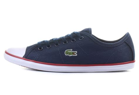 lacoste sneakers ziane sneaker canvas spw db  shop  sneakers shoes  boots