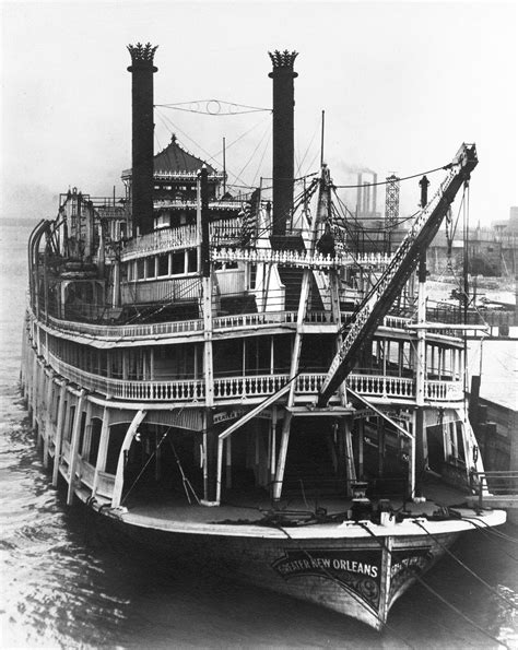 Steam Boat Old by Steamboats Online Museum Dave Thomson Wing