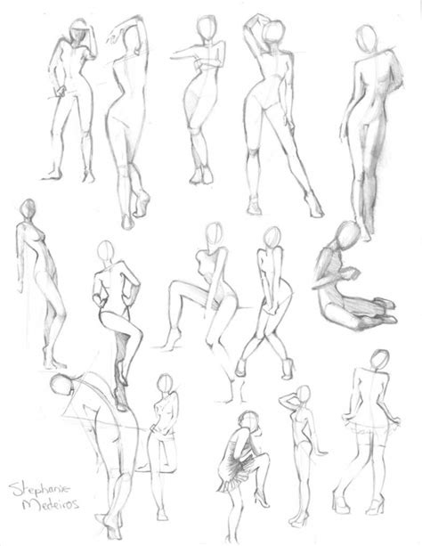 1000 Images About Anime On Anime Anime Figure Sketch 1000 Images About Poses On